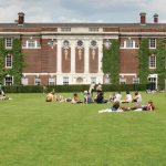 Students-relaxing-on-the-College-Green_4452